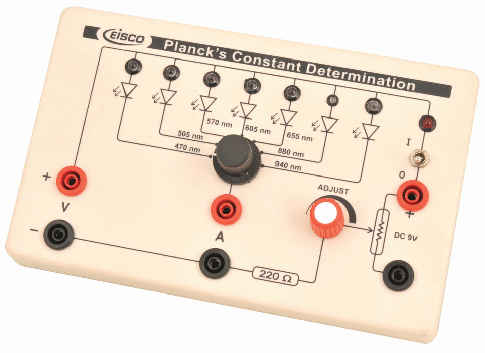Eisco Labs Planck's Constant Determination Box
