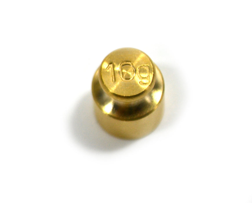 Eisco Labs Balance Weight - Brass - 10 grams