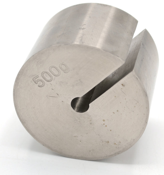 Eisco Stainless Steel Slotted Mass - 500gm (1.1lb)