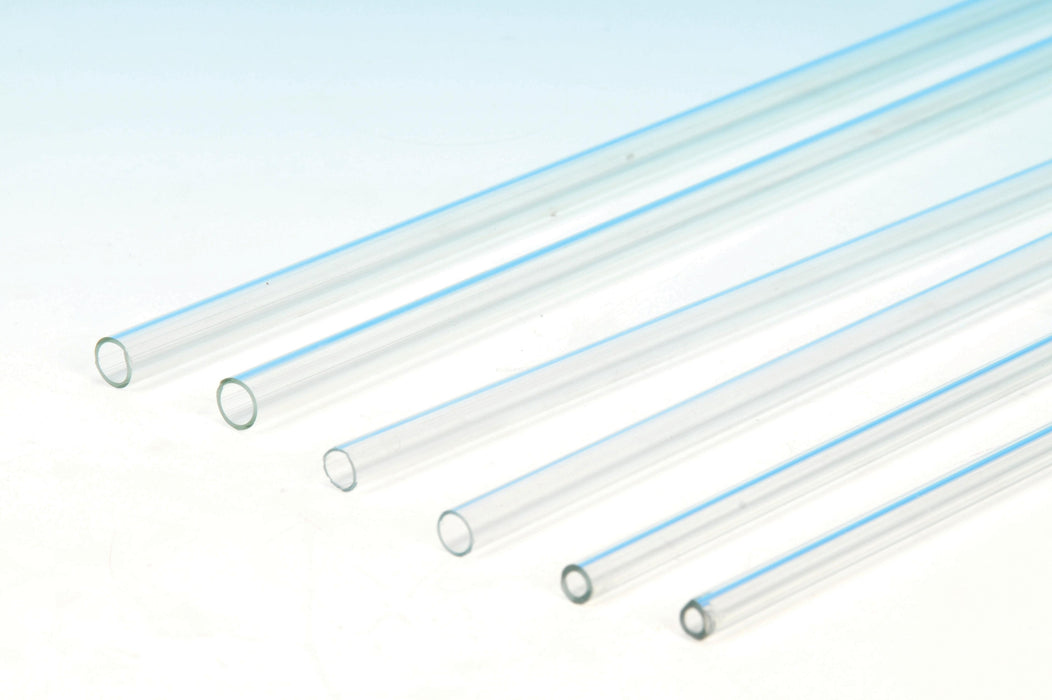 "Borosilicate Glass Tubing - 10pk - 20"" length - .25"" diameter"