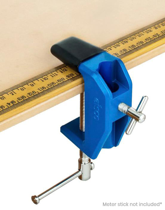 Heavy Duty Table Clamp - Vinyl Coated Grip - Rod/Pulley Holder - Eisco Labs