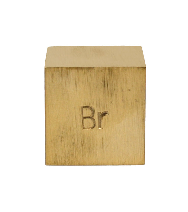 Specific Gravity Cube - Brass - No Hook