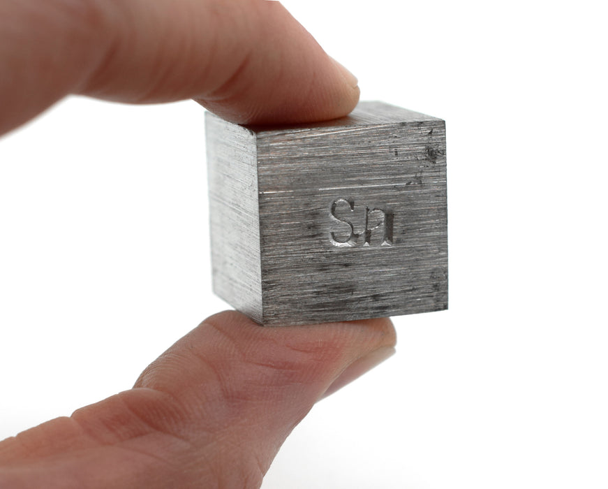 Specific Gravity Cube - Tin - No Hook