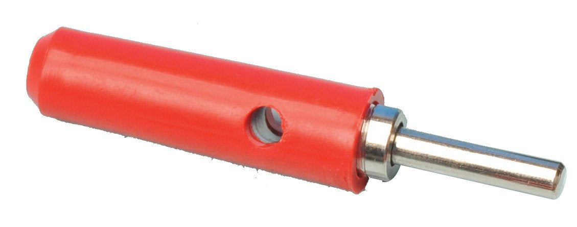 Plugs - Transverse Hole, Red