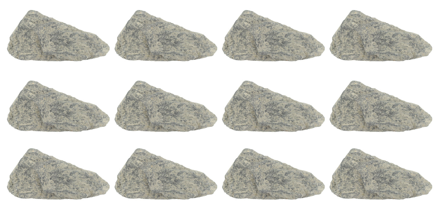 12 Pack - Raw Phyllite, Metamorphic Rock Specimens - Approx. 1""