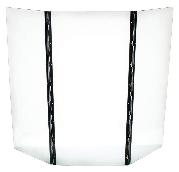 Safety Shield, 3 Panels - Durable, 4mm Thick Polycarbonate - Eisco Labs