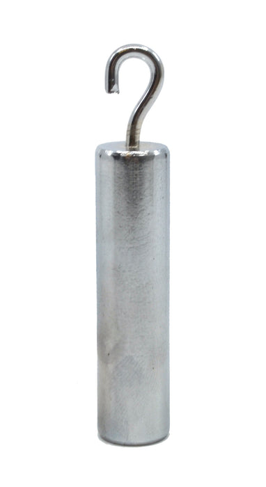 "Specific Gravity Cylinder with Hook, Steel - 2"" x 0.5"" - Eisco Labs"