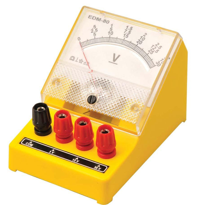 Moving Coil Voltmeter - 0-5V, 0-10V
