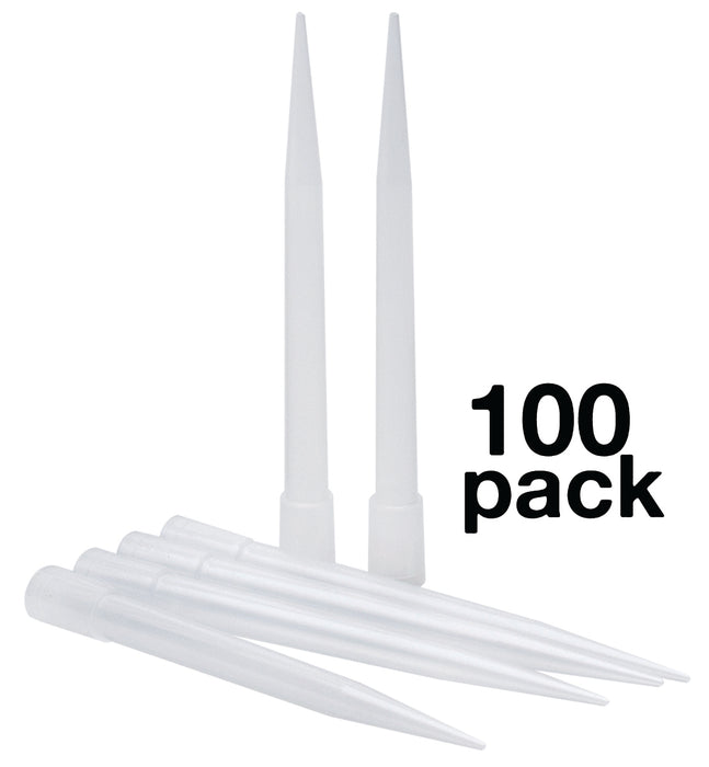 Micropipette Tips, 100pc - 10,000µl capacity - Non-Sterile - Autoclavable - Eisco Labs