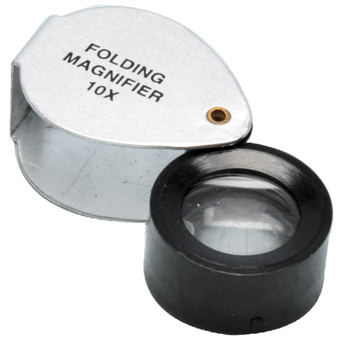 "Folding Magnifier, 0.75"", 10x Magnification – Gowland Type"