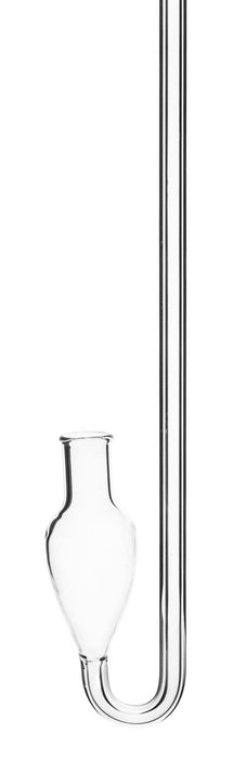 Barometer Tube, 35 Inch - With Bulb - Borosilicate Glass