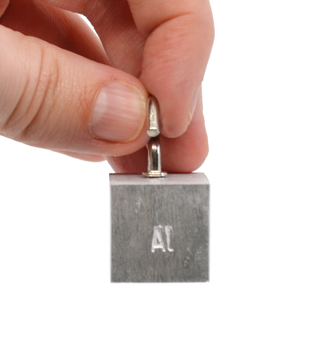 Specific Gravity Cube - Aluminium - With Hook
