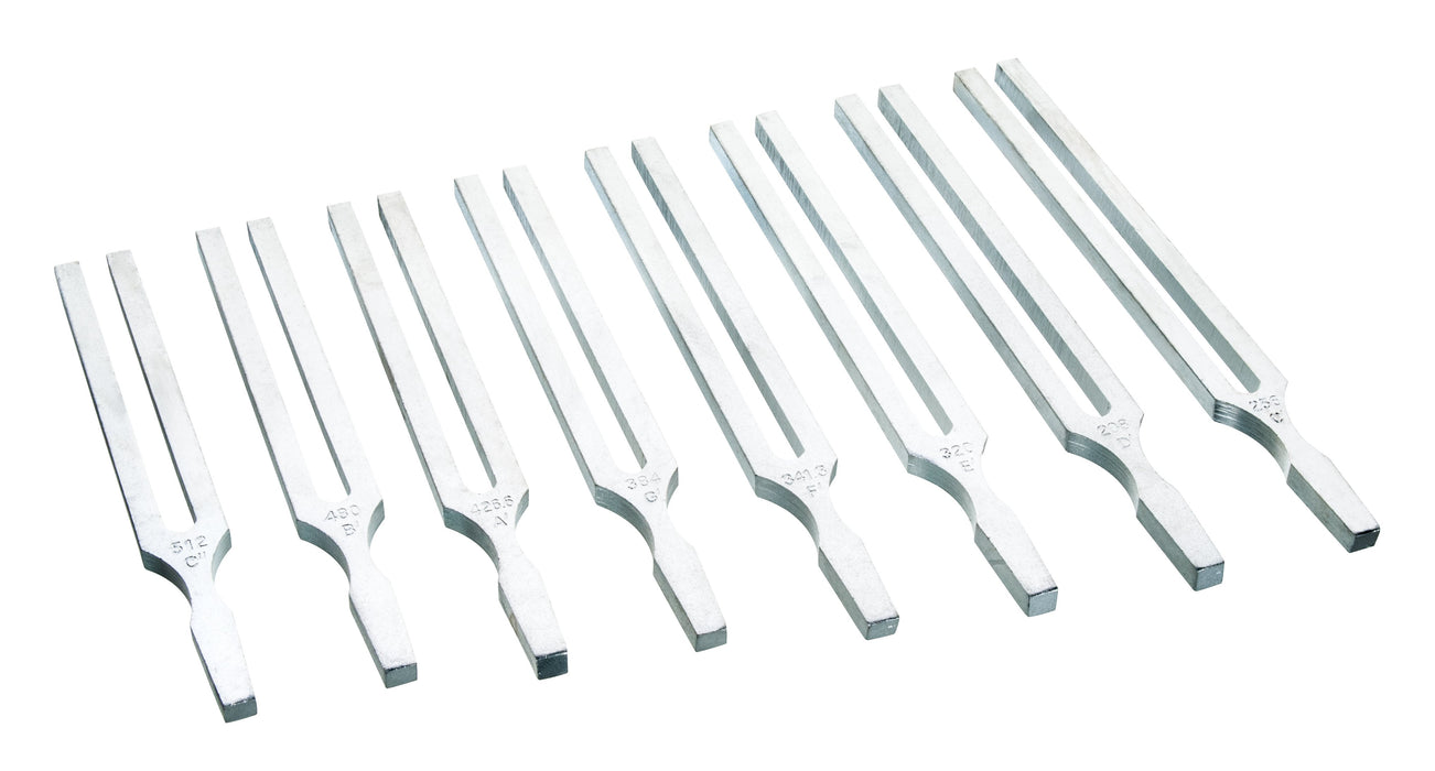 Tuning Forks - Aluminium, Frequency 341Hz