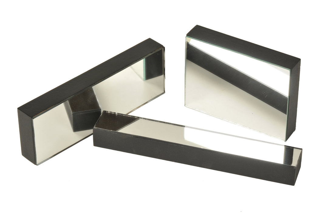 Plane Mirrors Glass - Mounted, 100 x 75 mm