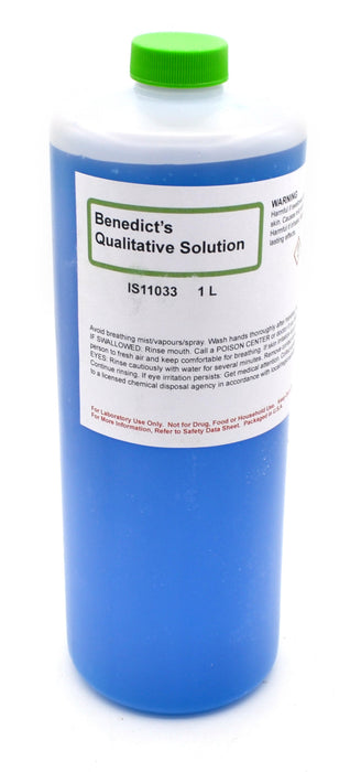 Qualitative Benedict's Solution, 1000mL - The Curated Chemical Collection