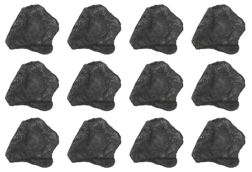 12 Pack - Raw Anthracite Coal, Metamorphic Rock Specimens - Approx. 1""
