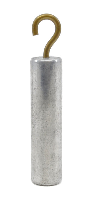 Specific Gravity Cylinder, 2 Inch - Aluminum - With Hook