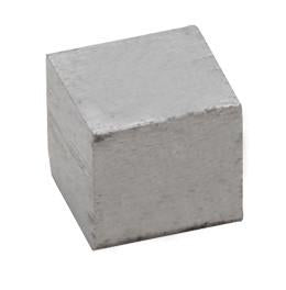 Specific Gravity Cube - Zinc - No Hook