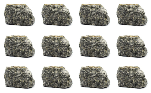 12 Pack - Raw Andesite, Igneous Rock Specimens - Approx. 1""