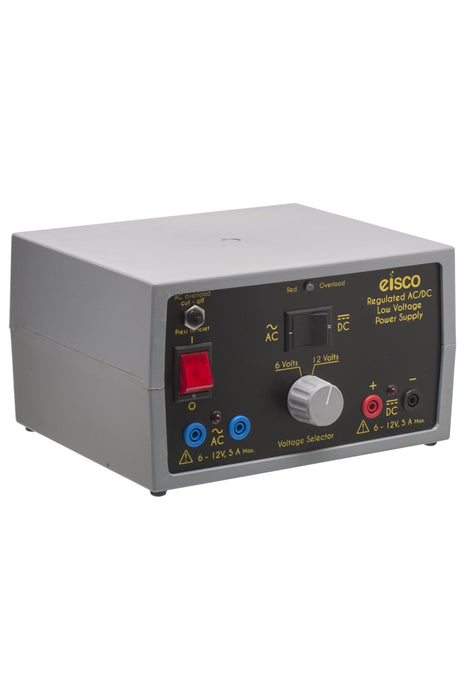 Power Supplies Regulated AC/DC 6V / 12V 5A