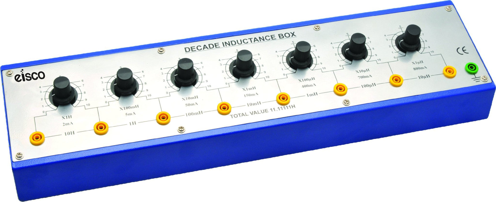 Decade Inductance Box - 7 Decade