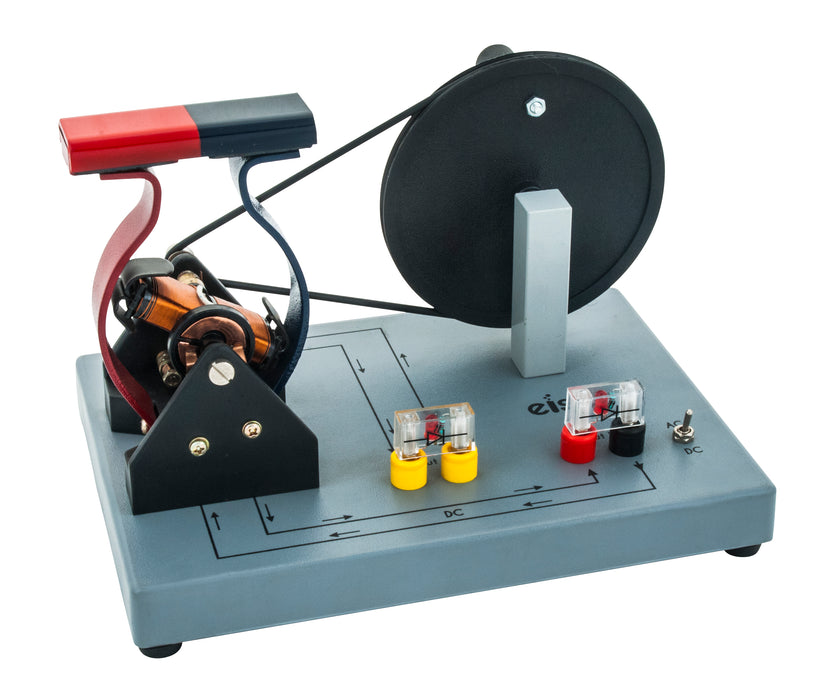 Eisco Labs Demonstration Motor Generator Activity Model (AC/DC) - Hand Powered