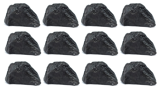 "12PK Raw Bituminous Coal, Sedimentary Rock Specimens - Approx. 1"" - Geologist Selected & Hand Processed - Great for Science Classrooms - Class Pack - Eisco Labs"
