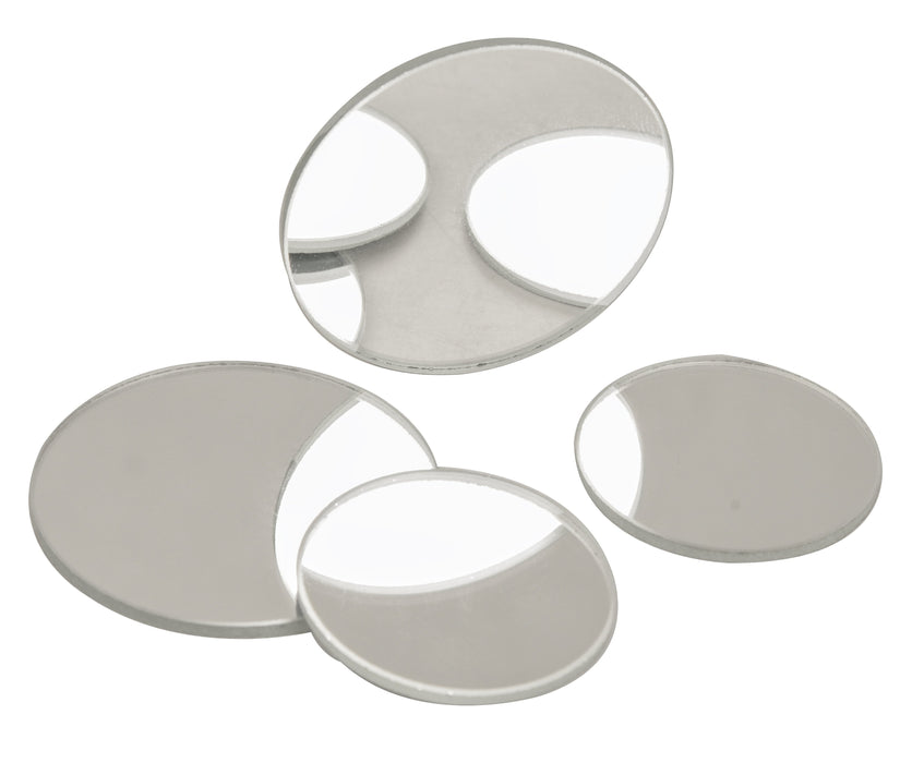 Plain Spherical Mirrors, Diameter 50mm