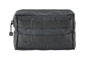 "Medium GP Pouch | MOLLE Front - 5 x 8 x 3"" Black - Blue Ridge Overland Gear"