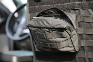 "Medium GP Pouch | MOLLE Front - 5 x 8 x 3""  - Blue Ridge Overland Gear"