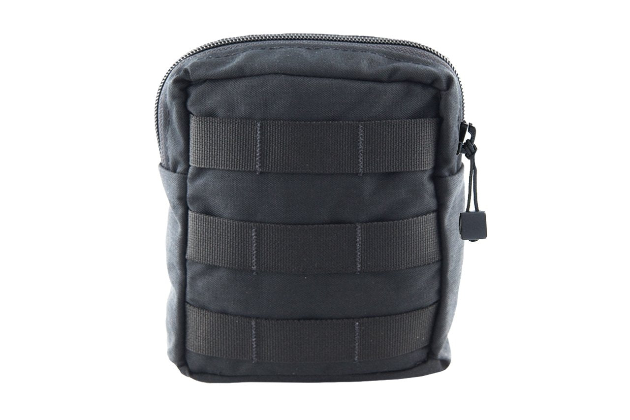 "Small GP Pouch | MOLLE Front - 7 x 3 x 5"" Black - Blue Ridge Overland Gear"