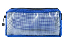"Load image into Gallery viewer, Utility Pouch XL | 12 x 6 x 2"" Blue - Blue Ridge Overland Gear"