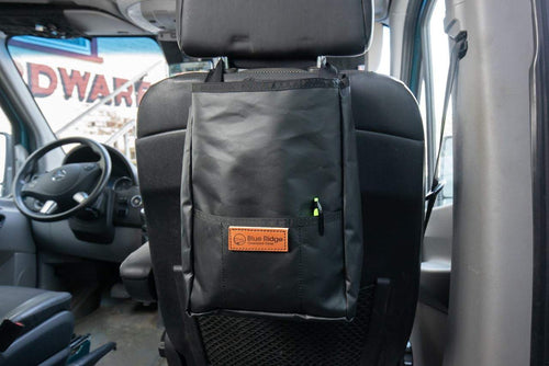 Headrest Trash Bag  - Blue Ridge Overland Gear