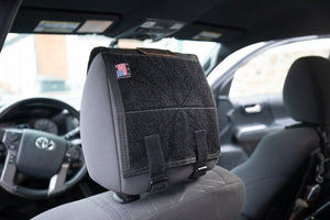 Headrest Velcro Panel Headrest Panel Only - Blue Ridge Overland Gear