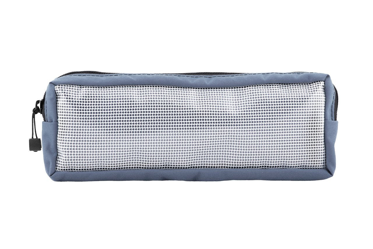 "Velcro Pouch Large - 12 x 4 x 2"" Gray - Blue Ridge Overland Gear"