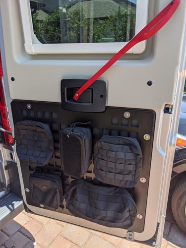 Promaster Rear Lower Modular Molle Storage Panels
