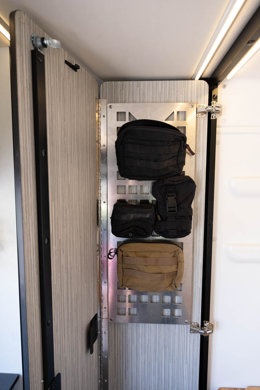 Revel Shower Door Molle Panel