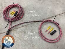 Load image into Gallery viewer, FreedomVanGo Roof Vent Fan Wiring Harness
