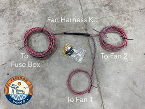 FreedomVanGo Roof Vent Fan Wiring Harness