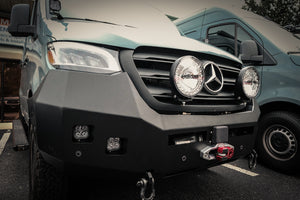 Mercedes Sprinter (2019+) Backwoods Adventure Mods Front Bumper W/O Bullbar