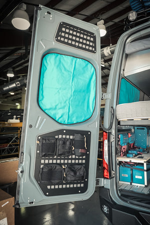 Mercedes Sprinter (2019+) Rear Door Modular MOLLE Storage Panel