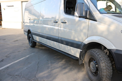 VAN COMPASS™ MERCEDES 4X4 SPRINTER ROCKER GUARDS 170