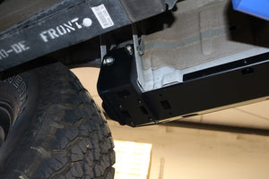 "Ford Transit 2.5"" lift kit and side steps (rocker guards)"