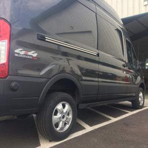 "VAN COMPASS™ FORD TRANSIT ROCKER GUARDS 148"" WHEELBASE (2015+)"