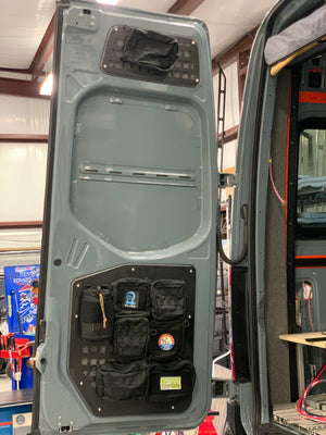 Mercedes Sprinter (2007-2018) Rear Door Modular MOLLE Storage Panel