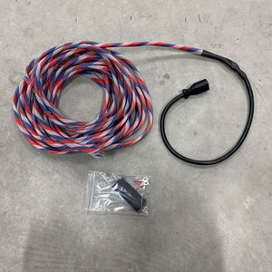 FreedomVanGo Goal Zero EC8 extension cable to battery