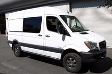 "Load image into Gallery viewer, VAN COMPASS™ MERCEDES 4X4 SPRINTER ROCKER GUARDS 144"" WHEELBASE (2015-CURRENT)"
