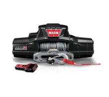 Load image into Gallery viewer, Warn ZEON Platinum 12-S Recovery 12000lb Winch with Spydura Synthetic Rope - 95960