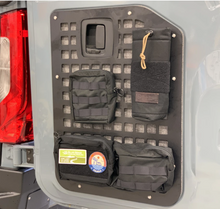 Load image into Gallery viewer, Molle Panel Blue Ridge Overland Pouch Set