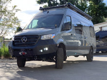 Load image into Gallery viewer, Mercedes Sprinter (2019+) Backwoods Adventure Mods Front Bumper W/O Bullbar